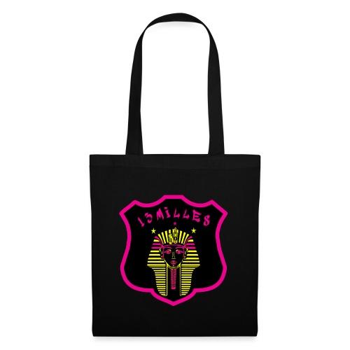 Pharaon Noir, Rose, Jaune hyper design - Tote Bag