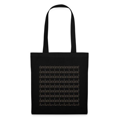 helsinki railway station pattern trasparent - Tote Bag