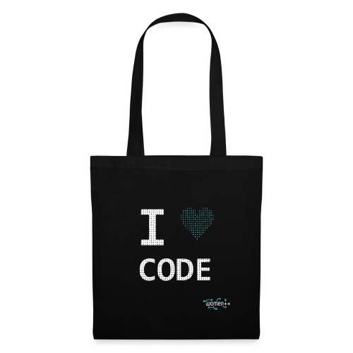 I <3 code - Sac en tissu