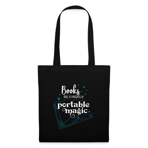 0030 books are unique magic | Magic - Tote Bag