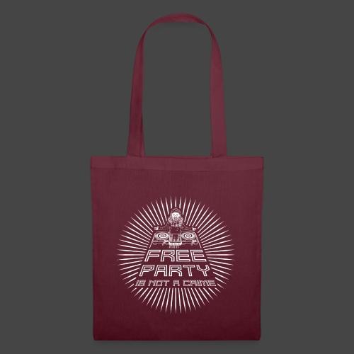 free party n'est pas un crime tekno 23 - Tote Bag