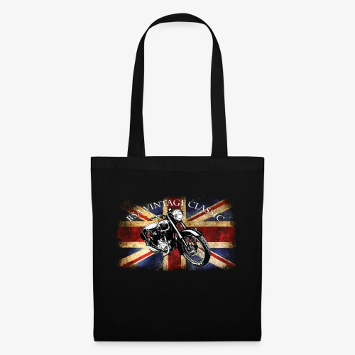 Vintage famous Brittish BSA motorcycle icon - Tote Bag