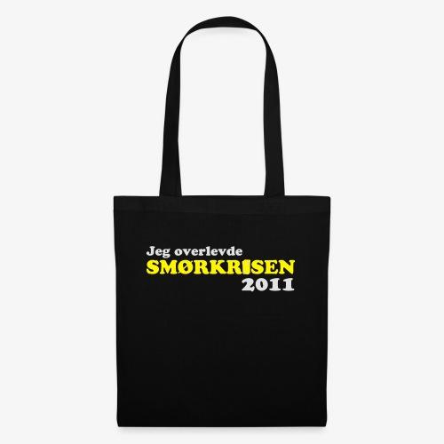 Smørkrise 2011 - Norsk - Stoffveske