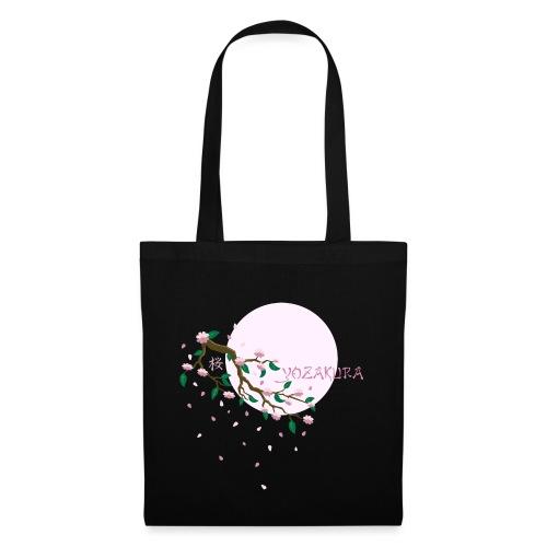 Cherry Blossom Festval Full Moon 1 - Stoffbeutel