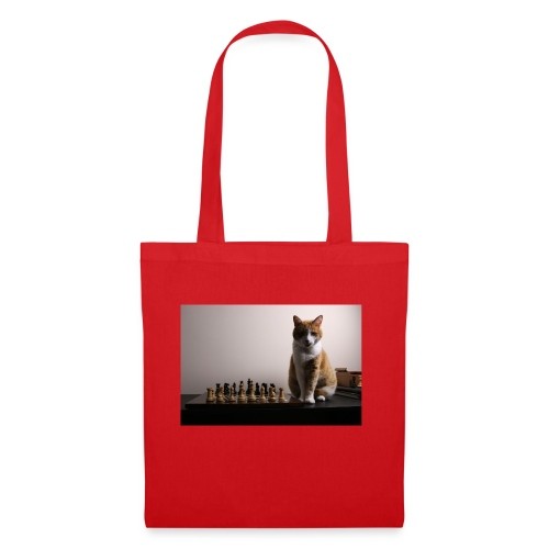 Charlie and his chess board - Tote Bag