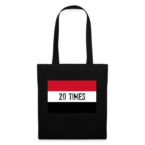 20 times - Tote Bag