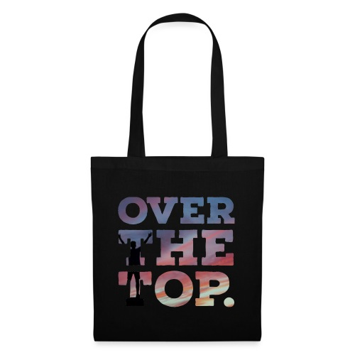 Over the top - Stoffbeutel