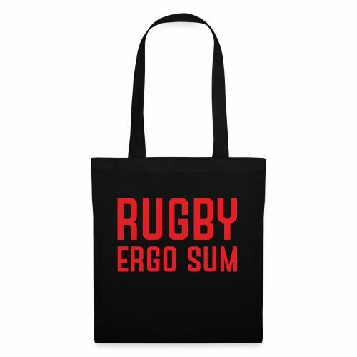 Marplo RugbyergosUM RED - Borsa di stoffa