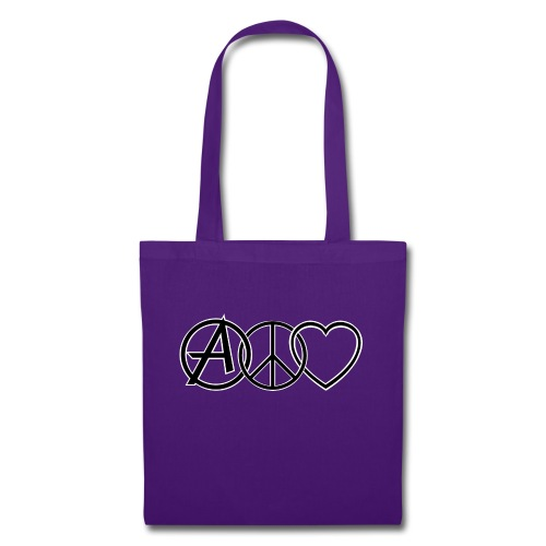 ANARCHY PEACE & LOVE - Tote Bag