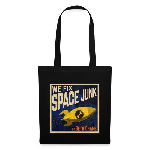 We Fix Space Junk logo (square) - Tote Bag