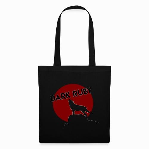 DARK RUBY Logo - Stoffbeutel