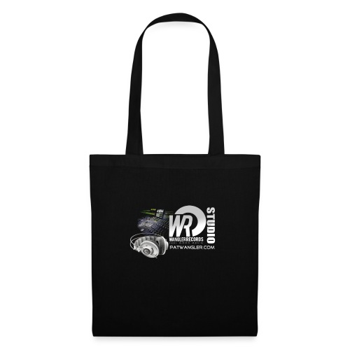 logo wrecordsstudio vs patwangler copie - Tote Bag