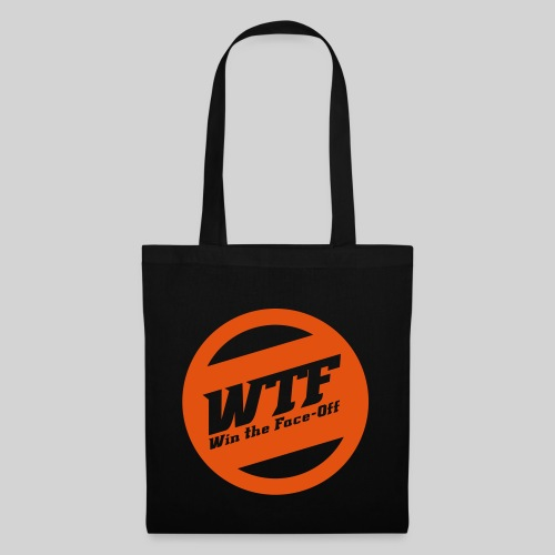 WTF - Win the Face-Off - Stoffbeutel