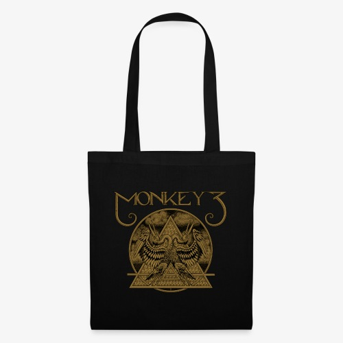 Monkey3 Birds Design - Tote Bag