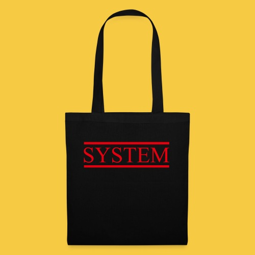 SYSTEM Balken rot - Stoffbeutel