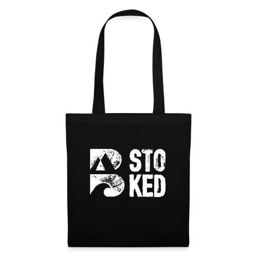 bstoked logo white - Tote Bag