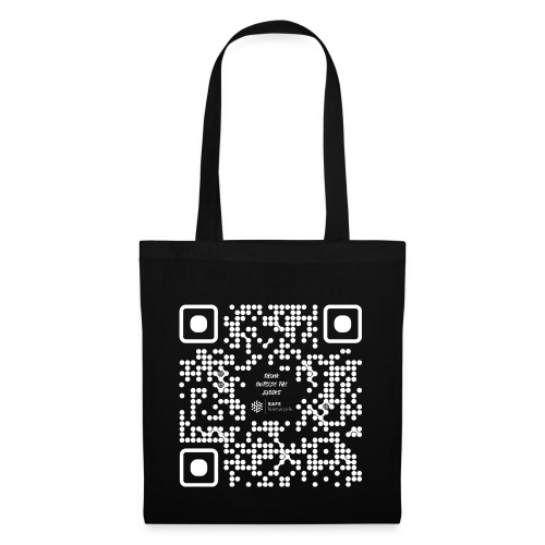 QR The New Internet Should not Be Blockchain Based W - Tote Bag