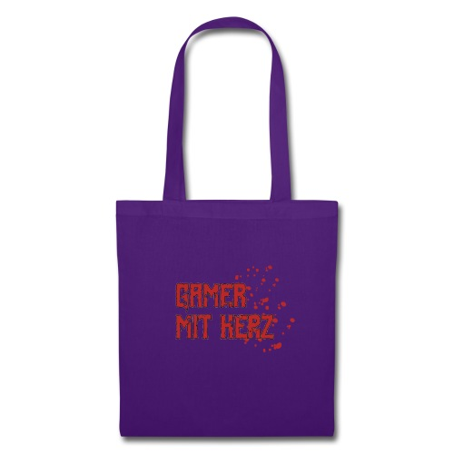 Gamer with heart - Tote Bag