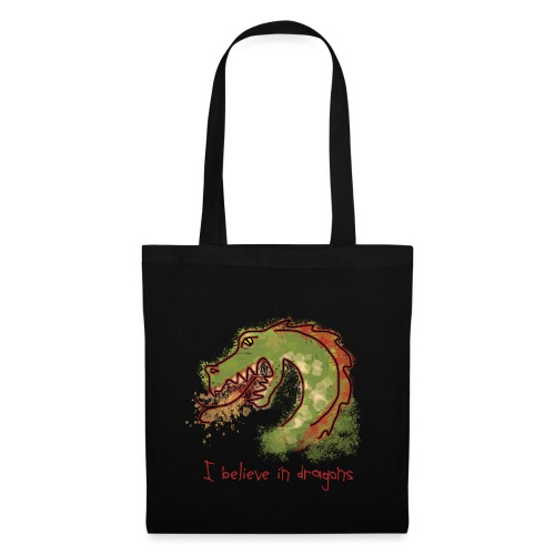 I believe in dragons - Tote Bag