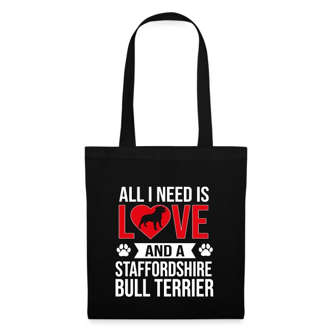 STAFFORDSHIRE BULLTERRIER-LOVE