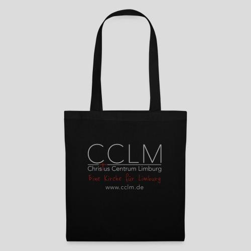 CCLM Logo Slogan web - Stoffbeutel
