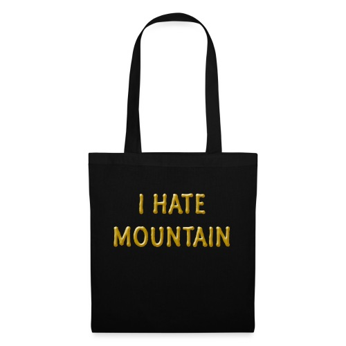 hate mountain - Stoffbeutel
