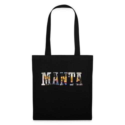 Manta Word design - Tas van stof
