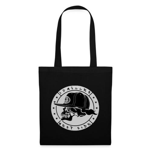 skull 13 milles noir et gris super design - Tote Bag