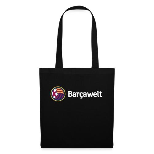 Barcawelt Logo mit Slogan - Stoffbeutel