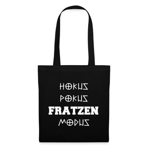 Hokus Pokus Fratzen Modus Afterhour Rave Spruch - Stoffbeutel