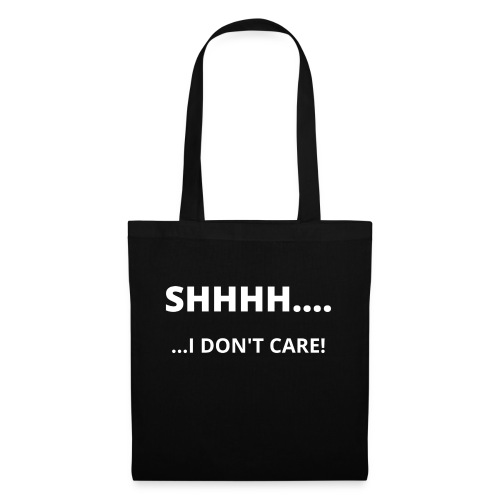 I DON'T CARE - Tote Bag