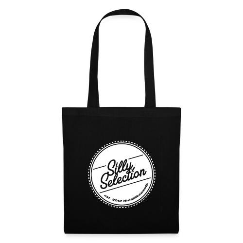 SillySelection_WHITE_logo - Tygväska
