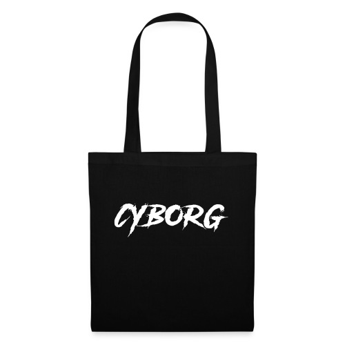 Sweat bordeaux à capuche Cyborg - Tote Bag