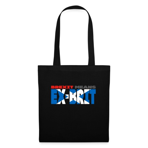 BREXIT MEANS... EX-BRIT! (me and my country!) - Tote Bag