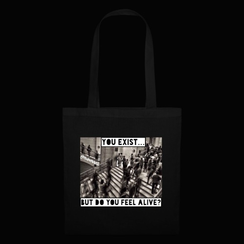 You Exist? Truth T-Shirts!! @realness112 #WakeUp - Tote Bag