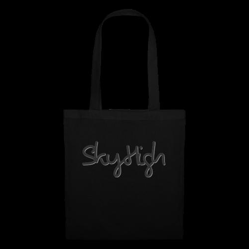SkyHigh - Men's Premium Hoodie - Black Lettering - Tote Bag