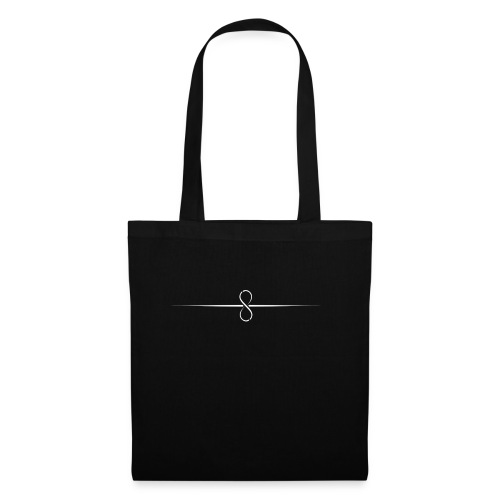 Through Infinity white symbol - Tote Bag