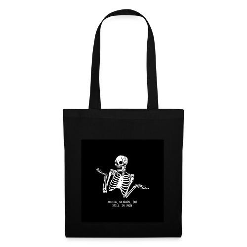 Tumblr skeleton - Stoffbeutel