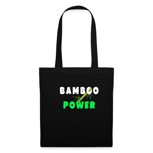 Bamboo Power T-shirt - Tas van stof