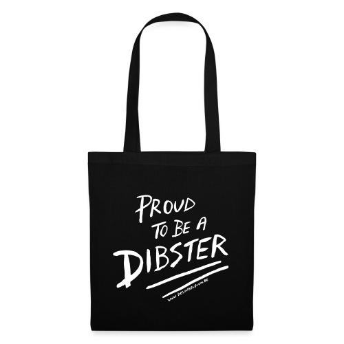 proud to be a dibster - Tas van stof