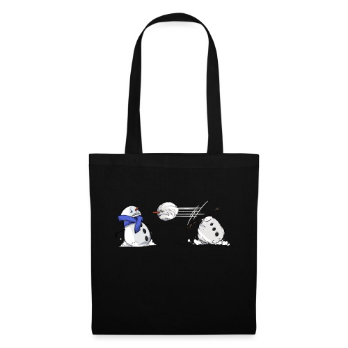 Bataille de boules de neige - Tote Bag