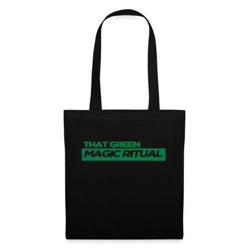 that GREEN MAGIC RITUAL clothing striplogo - Stoffbeutel