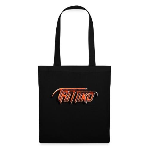 Trittiko Logo Rot 3D - Stoffbeutel