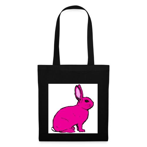 Pink Rabbit - Tote Bag