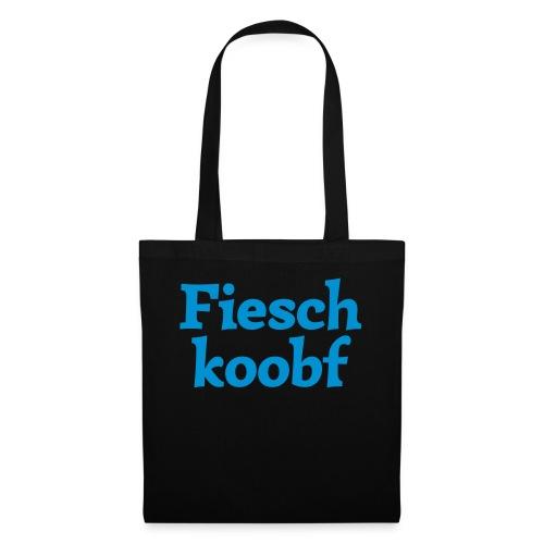 Fieschkoobf (hochdeutsch: Fischkopf) - Stoffbeutel