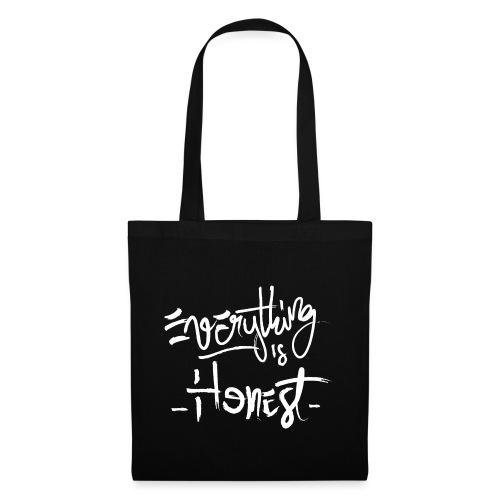 everything is honest png - Sac en tissu