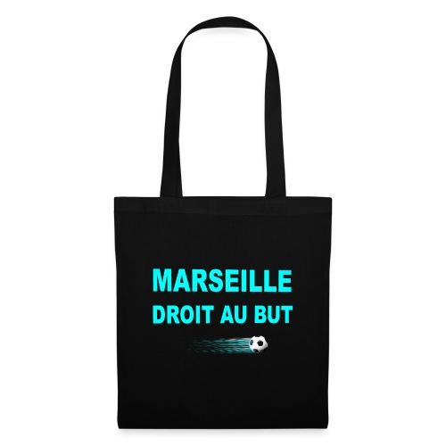 MARSEILLE DROIT AU BUT - Sac en tissu