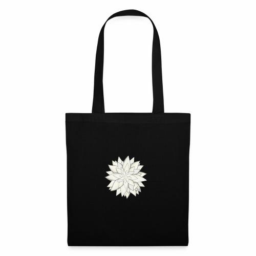 White Flower - Stoffbeutel