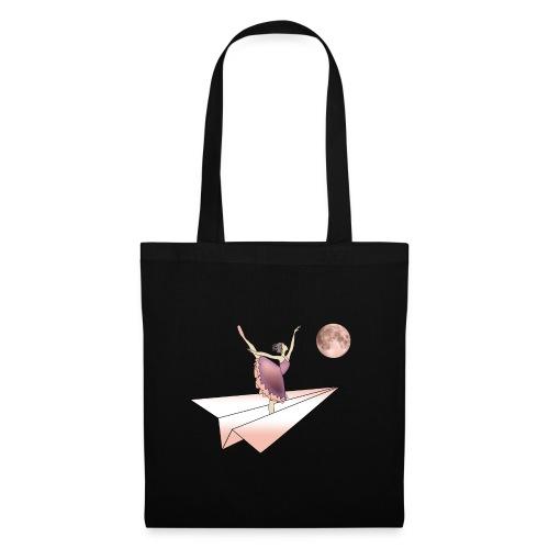 Flying ballerina - Stoffbeutel