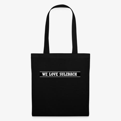 WeLoveSulzbach - Stoffbeutel